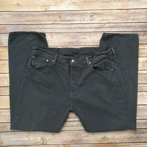 Levi's 501 Gray Jeans | 38 x 30